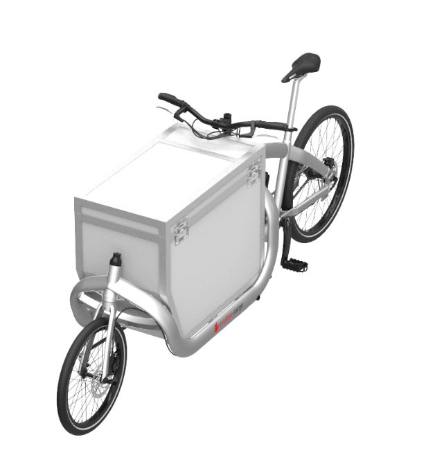 products flightcase box white with bike