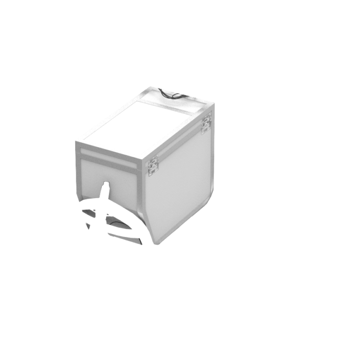 products flightcase white