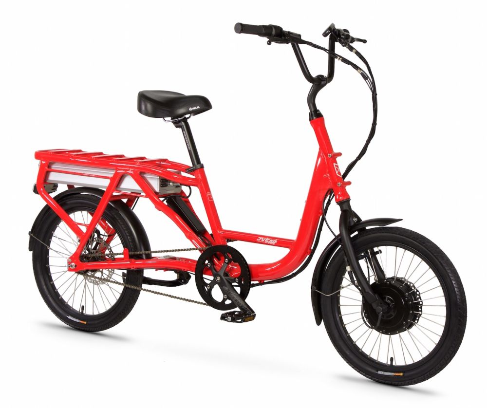 juiced bikes odk u500 utility electric bicycle cargocycles. Black Bedroom Furniture Sets. Home Design Ideas