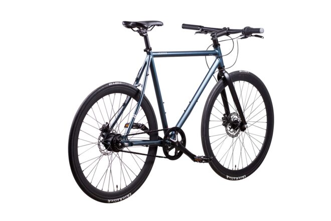 products 3 amsterdam commuter bike space blue 8 chain drive rear view