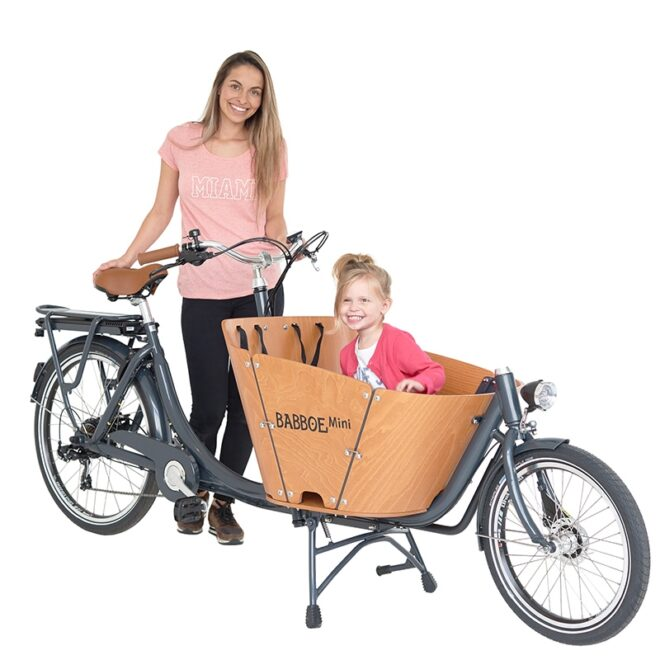 products babboe tweewieler bakfiets mini
