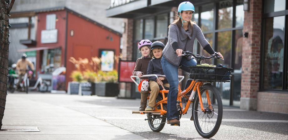 , Carrying Young Children On Bikes