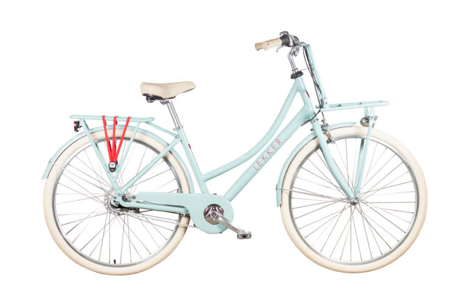 Jordaan Womens Dutch Bike Pastel Blue Side View
