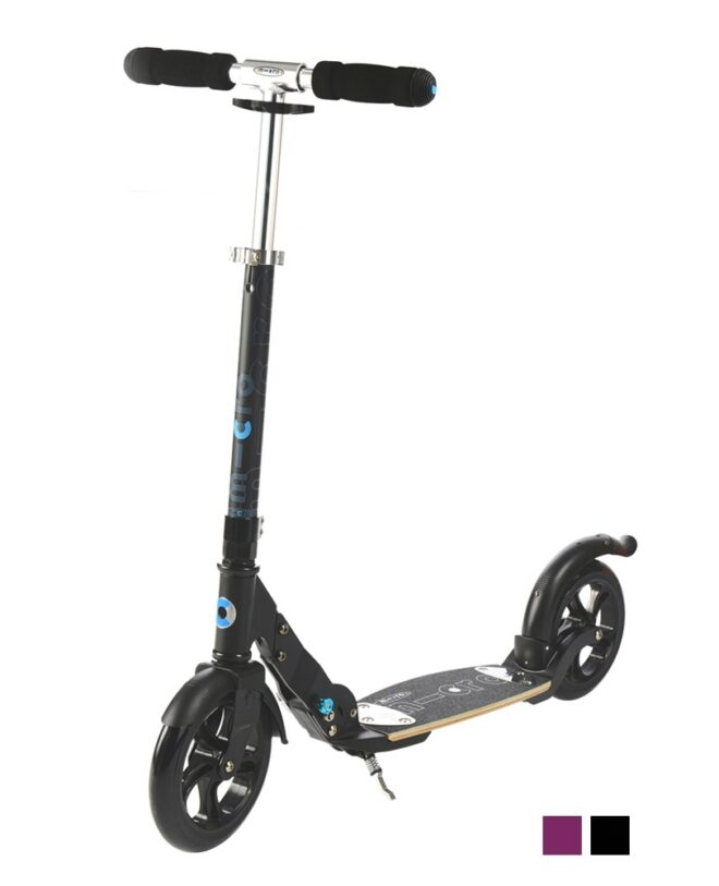 micro flex adult scooter Black
