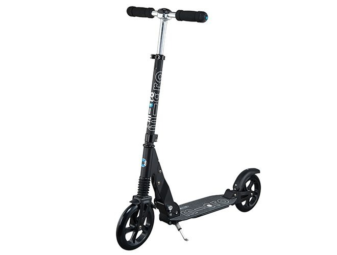 micro suspension black adults scooter extended SA0156 1 1