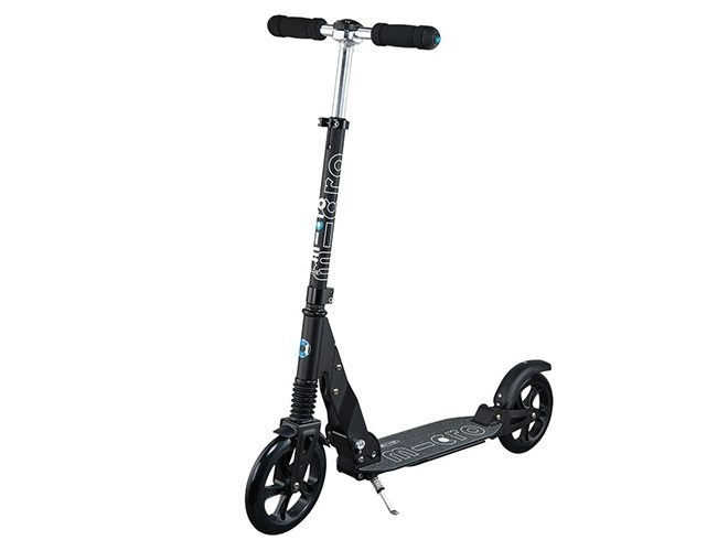 micro suspension black adults scooter extended SA0156 2
