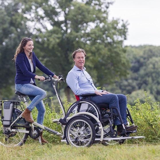 rolstoeltransporter fiets
