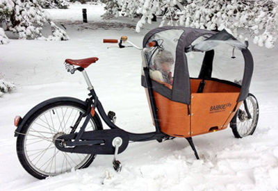 How to prep your Babboe cargobike for winter.
