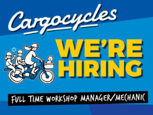 We're hiring - Workshop Manager/Mechanic
